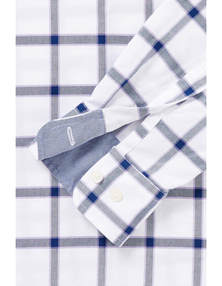 Tailored Large Oxford Check Shirt image 2
