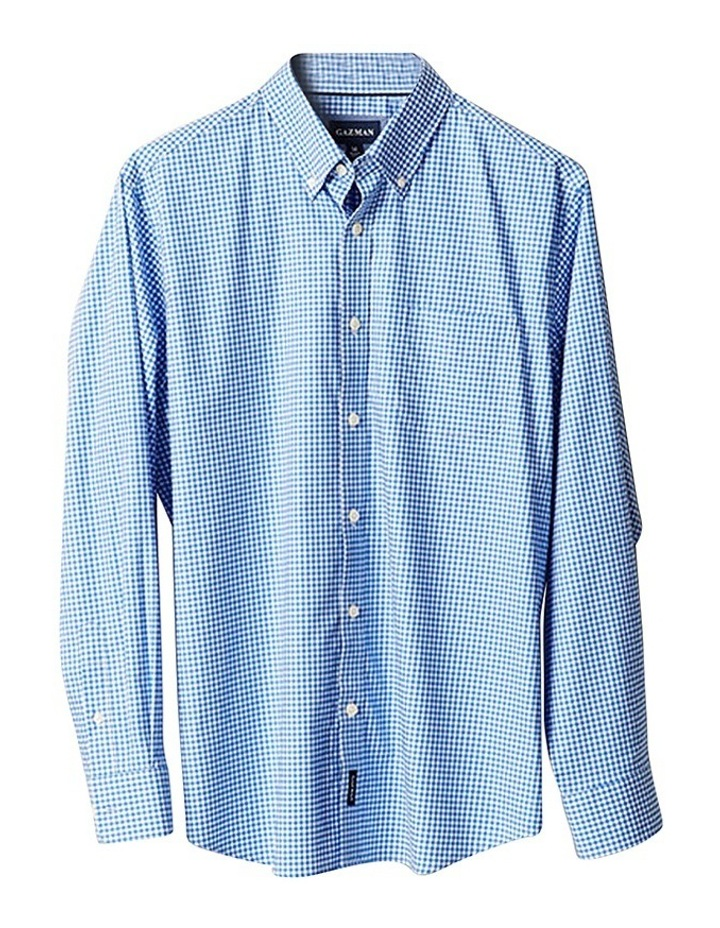 Easy Care Stretch Twill Check Shirt image 3