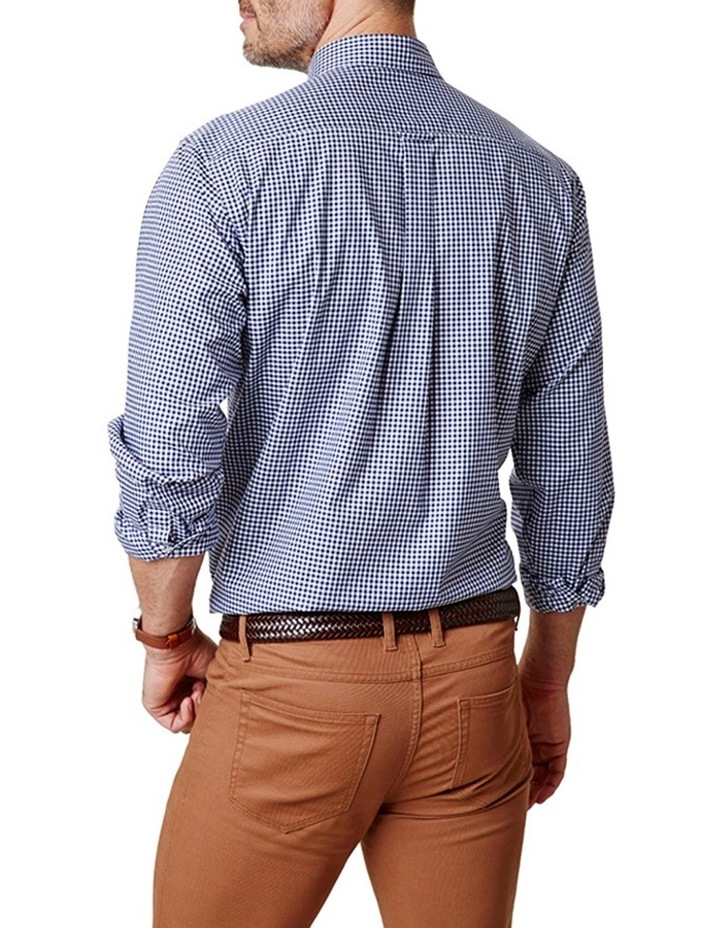Easy Care Stretch Twill Check Shirt image 2