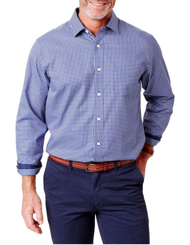 Easy Care Oxford Check Shirt image 1