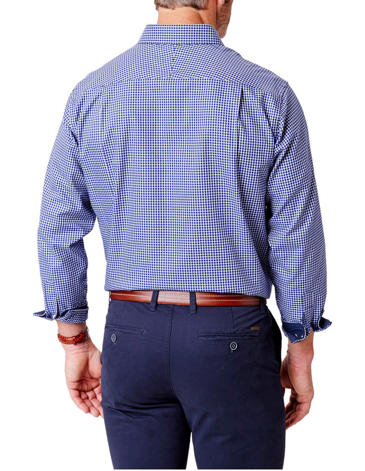 Easy Care Oxford Check Shirt image 2