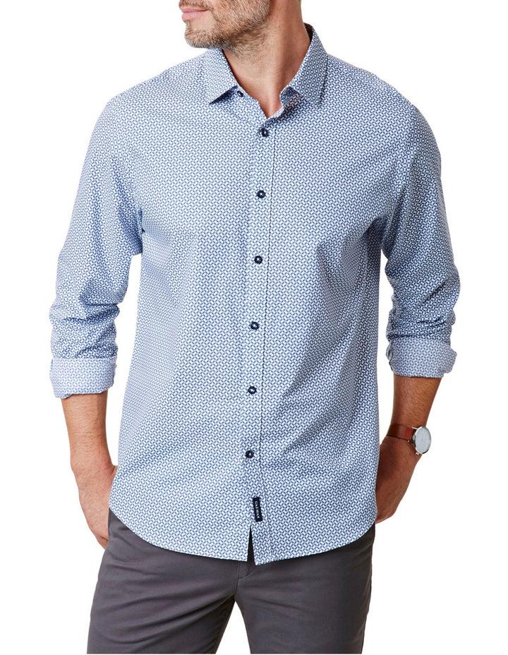 Tailored Fit Geo Print Shirt image 1