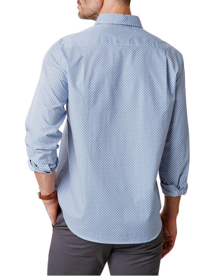 Tailored Fit Geo Print Shirt image 2
