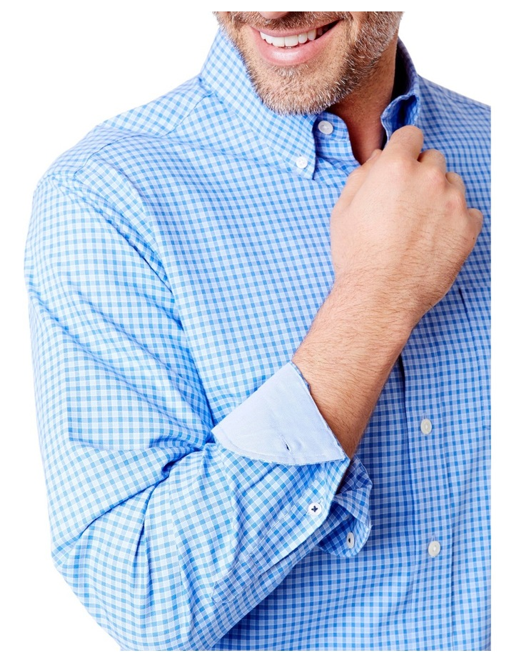 Easy Care Oxford Gingham Shirt image 3