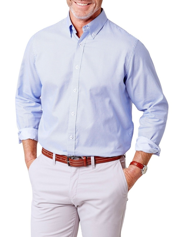 Casual Oxford Circle Print Shirt image 1