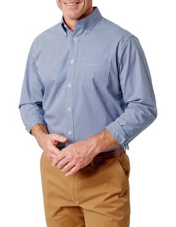 bba5538a118 GazmanEasy Care Stretch Gingham Long Sleeve Shirt. Gazman Easy Care Stretch  Gingham Long Sleeve Shirt
