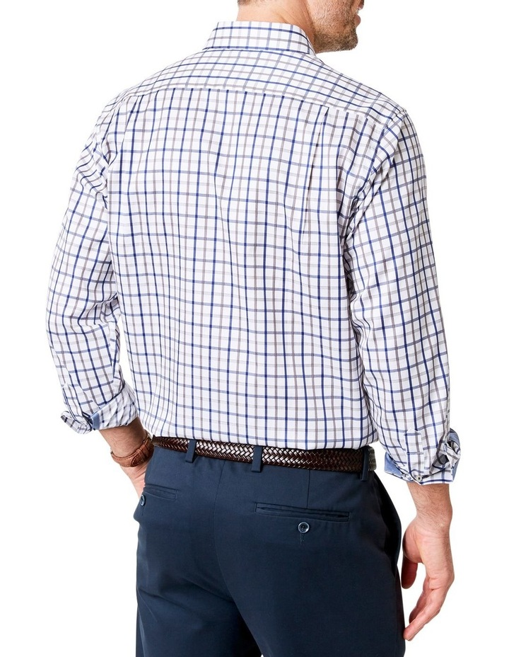 Easy Care Twill Check Long Sleeve Shirt image 2
