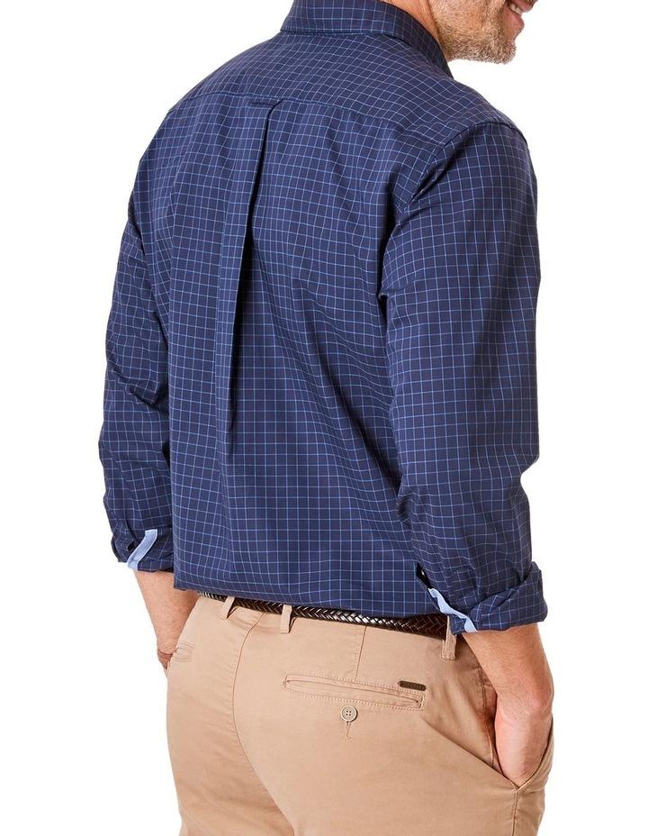 Casual Poplin Check Long Sleeve Shirt image 2