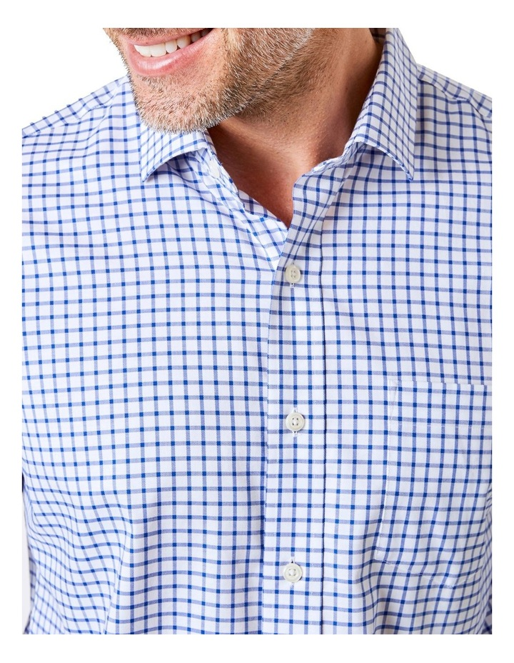 Easy Care Check Long Sleeve Shirt image 3