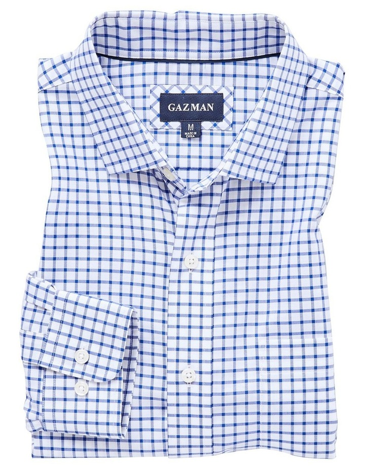 Easy Care Check Long Sleeve Shirt image 4