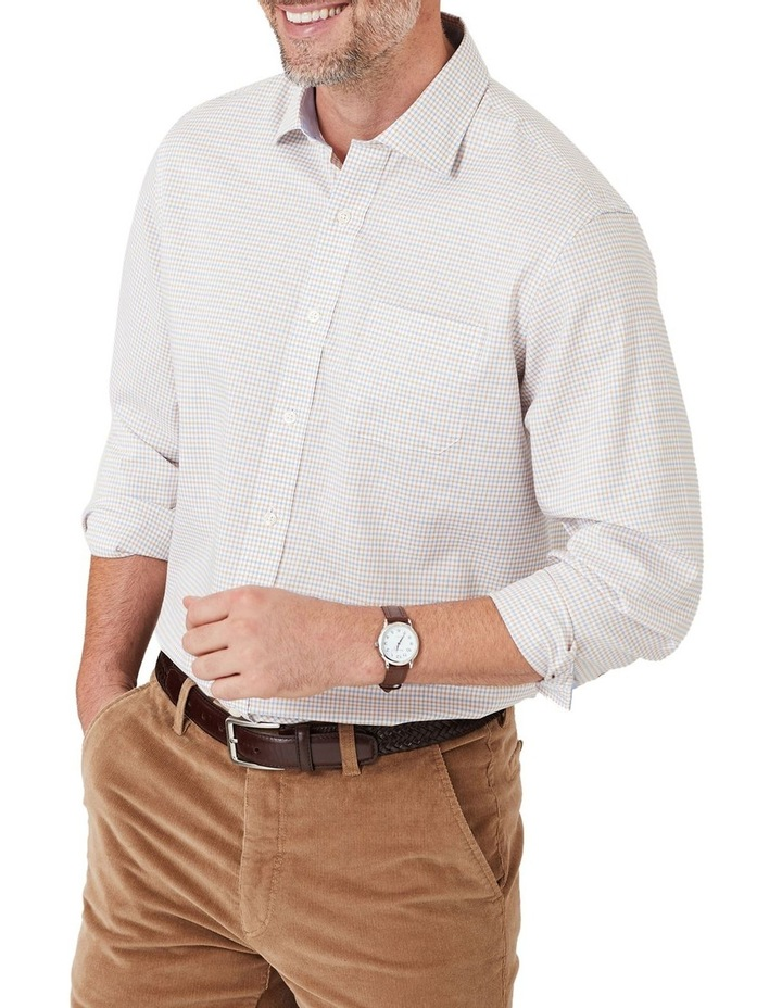 Easy Care Melange Multi Check Long Sleeve Shirt image 1