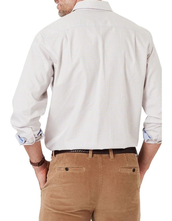 Easy Care Melange Multi Check Long Sleeve Shirt image 2