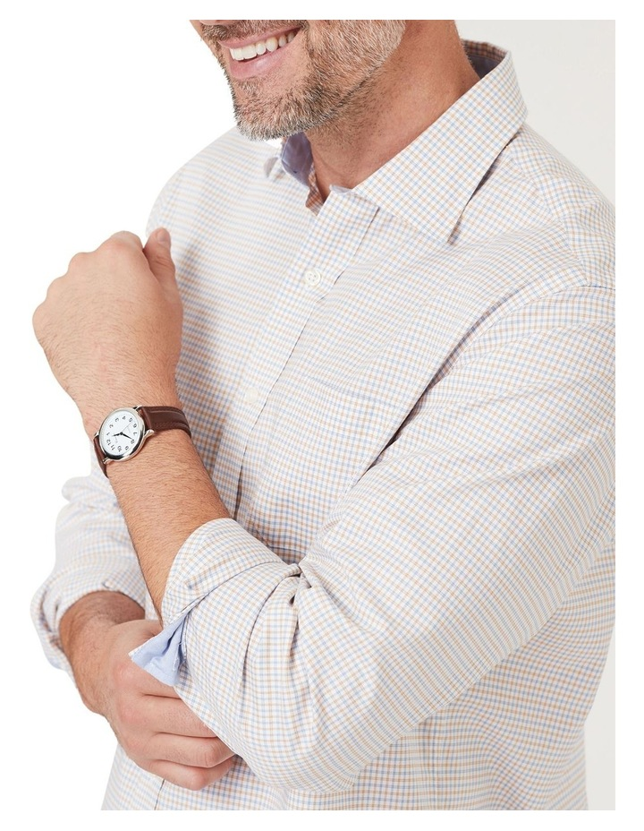 Easy Care Melange Multi Check Long Sleeve Shirt image 3