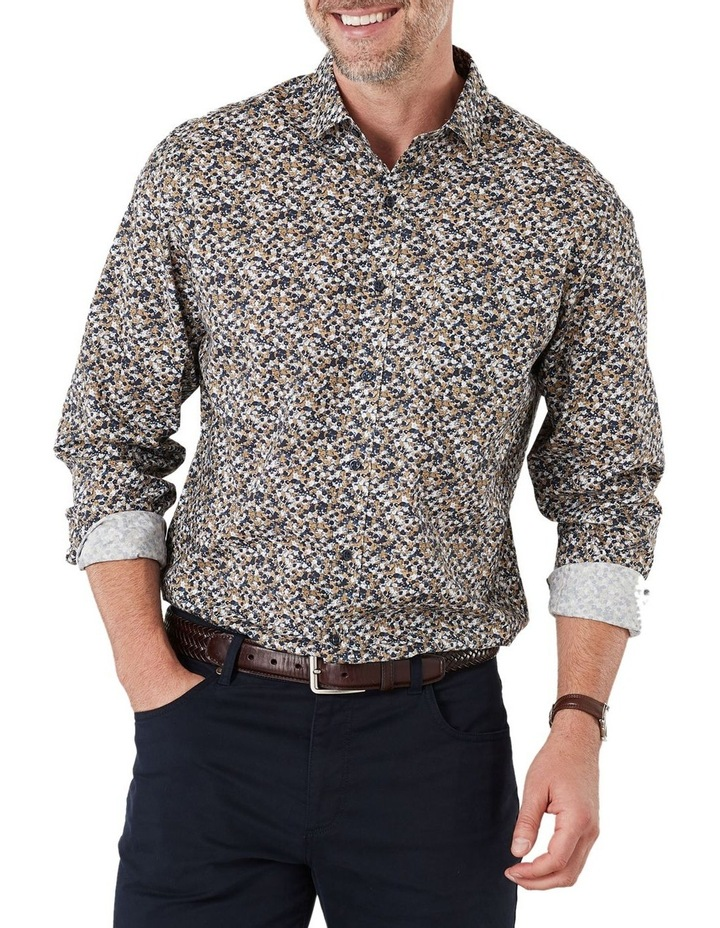 Smart Floral Print Long Sleeve Shirt image 1