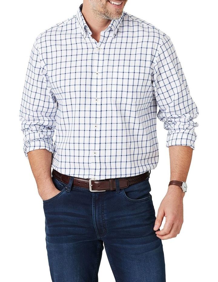 Brush Twill Check Long Sleeve Shirt image 1