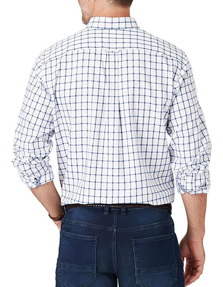Brush Twill Check Long Sleeve Shirt image 2
