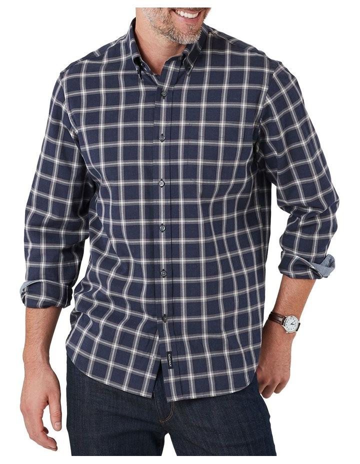 Brushed Twill Melange Check Long Sleeve Shirt image 1