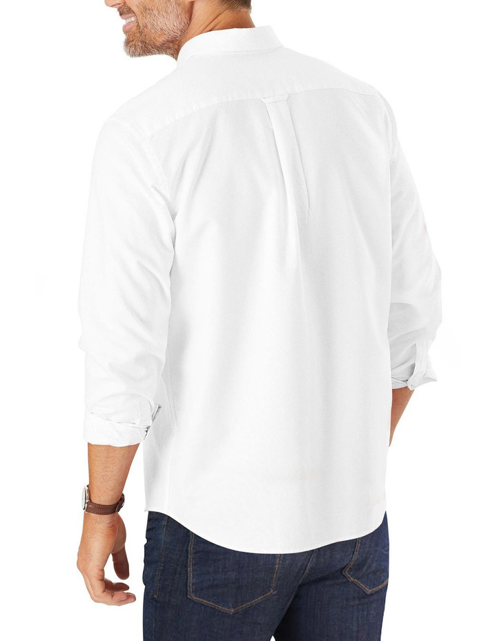 Casual Plain Oxford Long Sleeve Shirt image 2