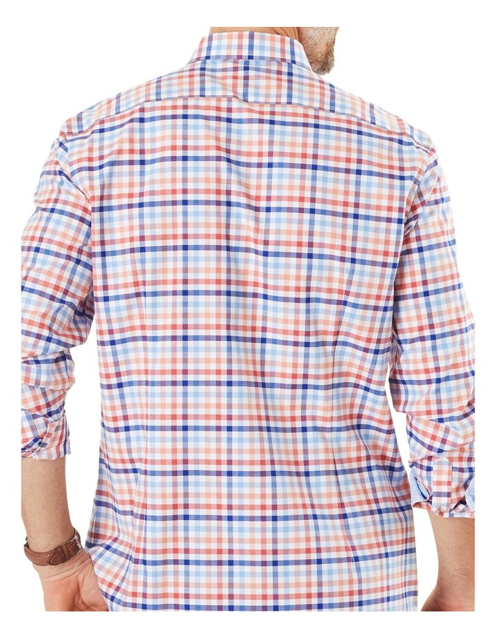 Easy Care Twill Multi Check Long Sleeve Shirt image 2