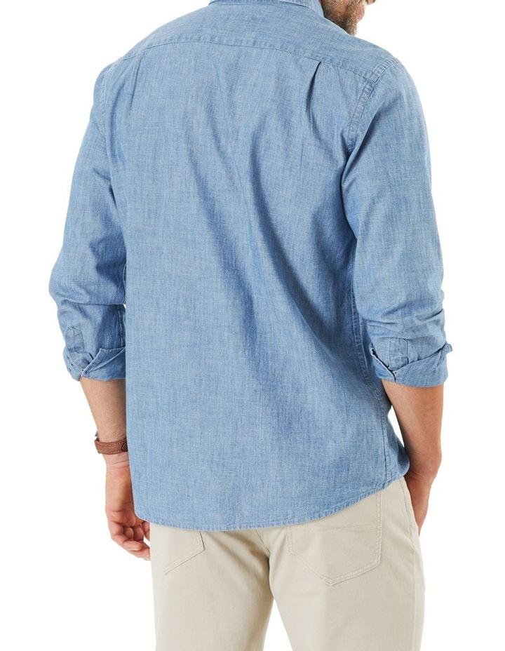 True Indigo Chambray Long Sleeve Shirt image 2