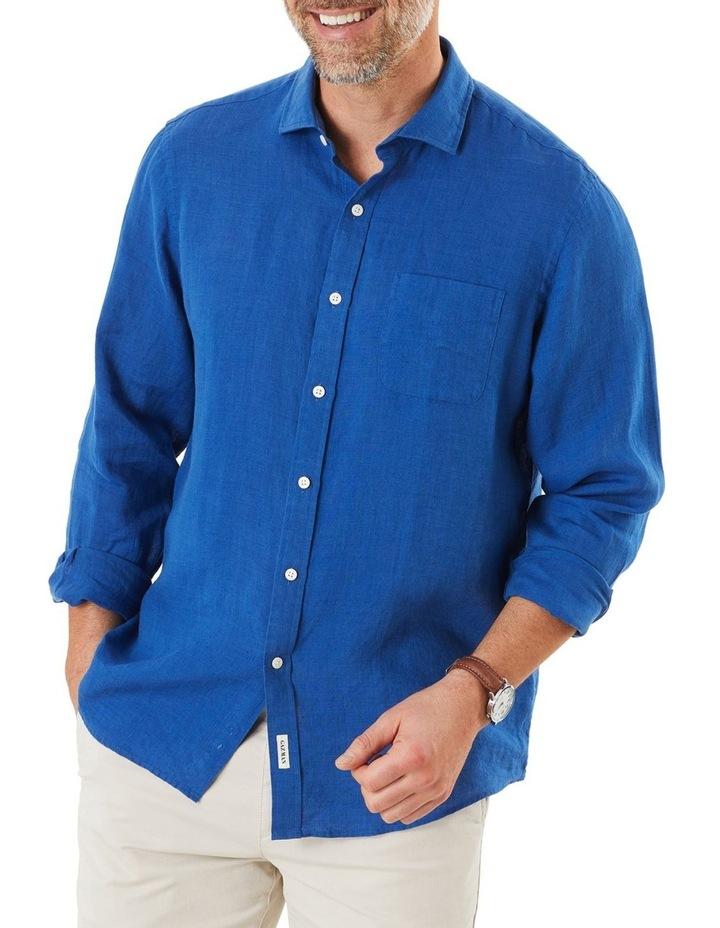 Pure Linen Long Sleeve Shirt image 1