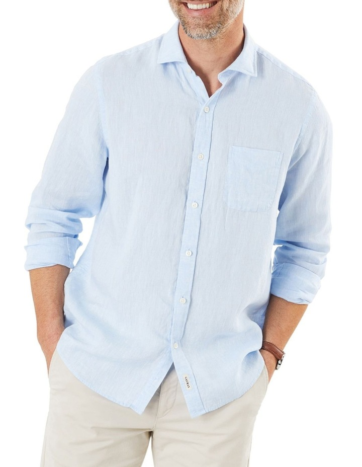 Pure Linen Long Sleeve Shirt image 1