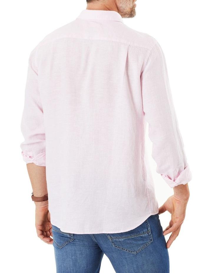 Pure Linen Long Sleeve Shirt image 2
