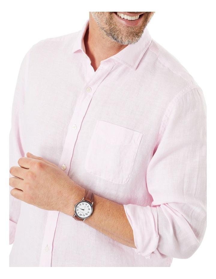 Pure Linen Long Sleeve Shirt image 3