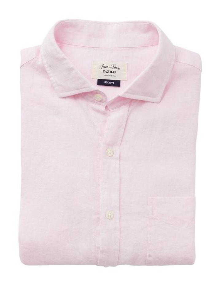 Pure Linen Long Sleeve Shirt image 4