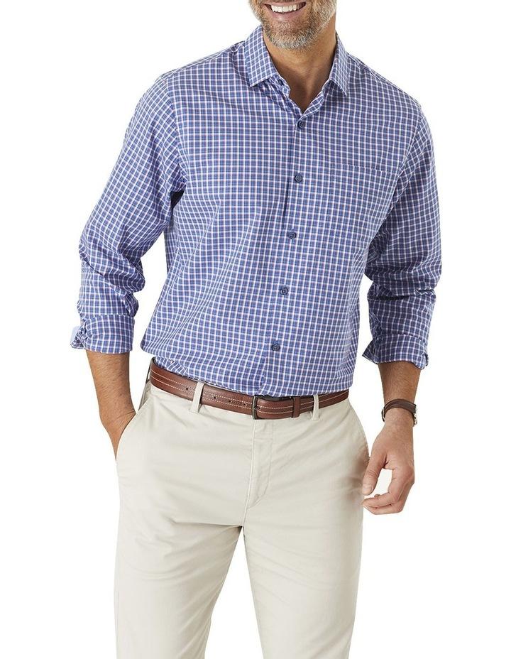 Easy Care Check Long Sleeve Shirt image 1