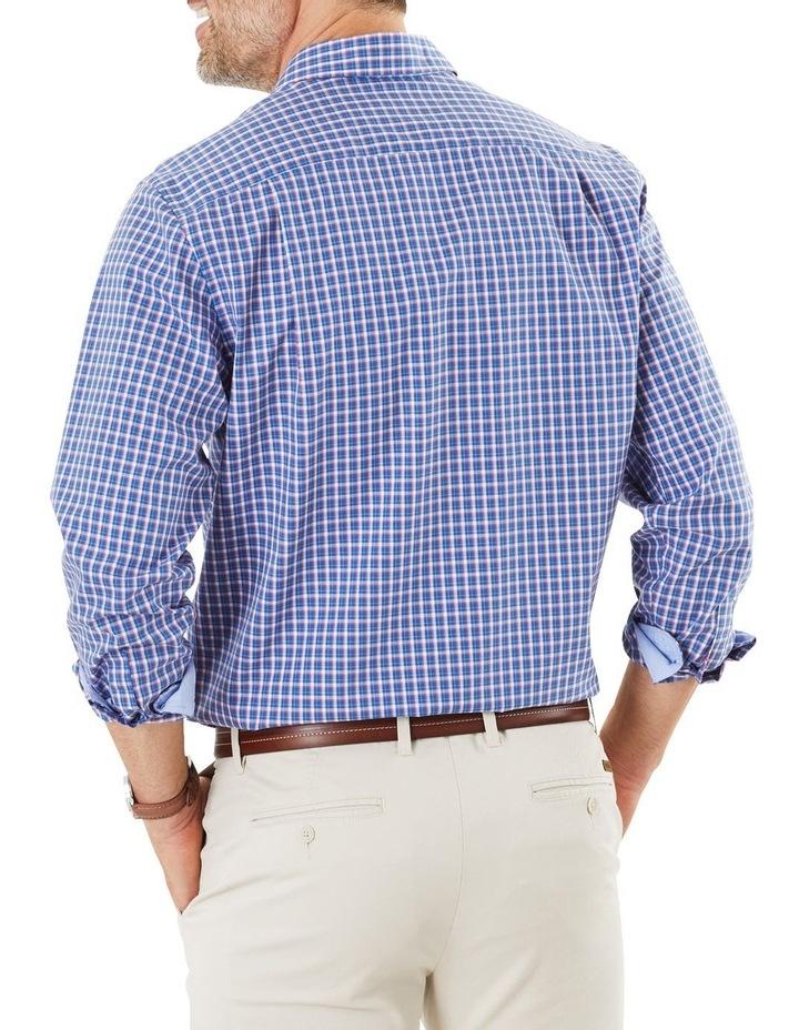 Easy Care Check Long Sleeve Shirt image 3