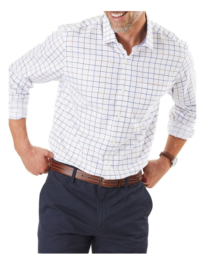Easy Care Twill Check Long Sleeve Shirt image 1