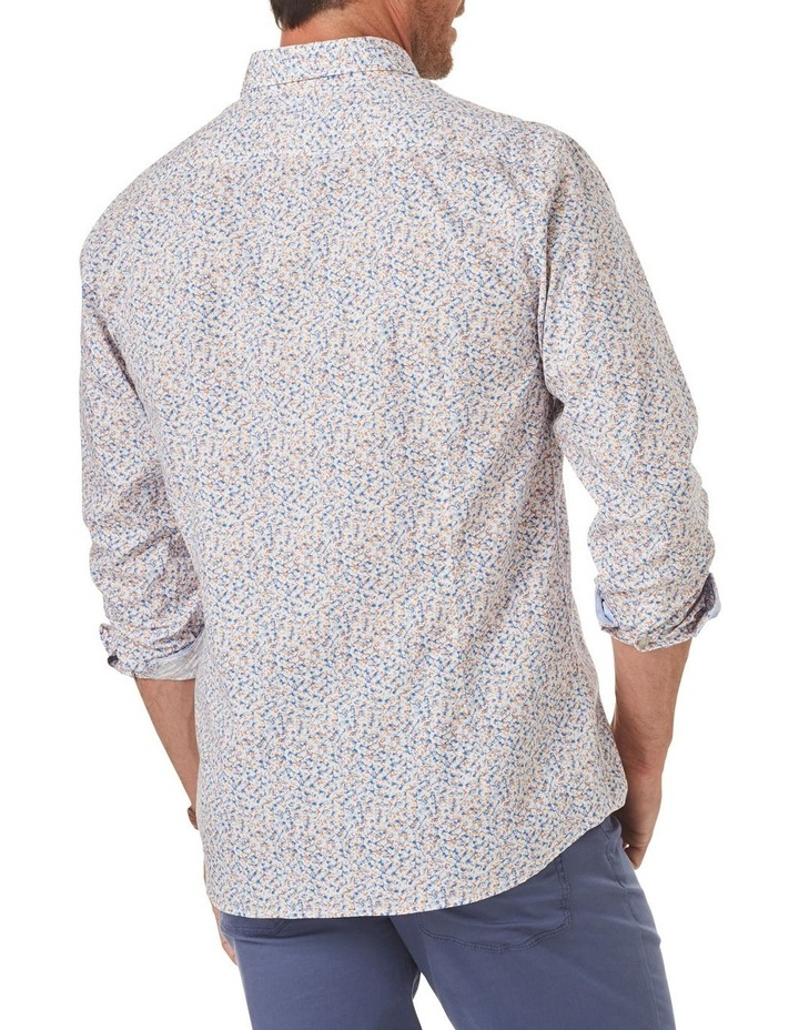 Tailored Light Weight Casual Print Long Sleeve Shirt image 2