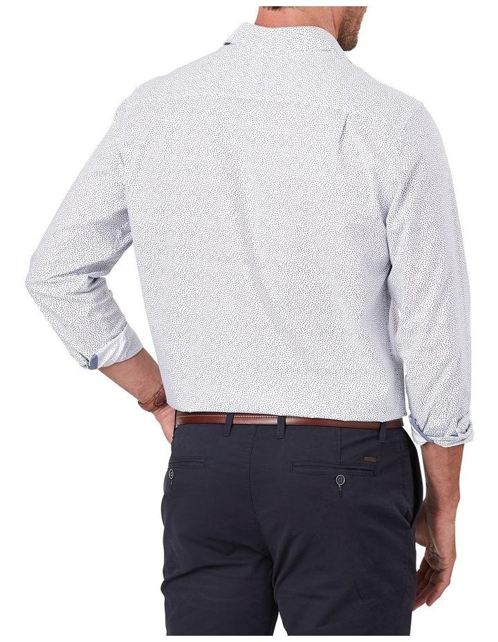 Twill Leaf Print Long Sleeve Shirt image 2