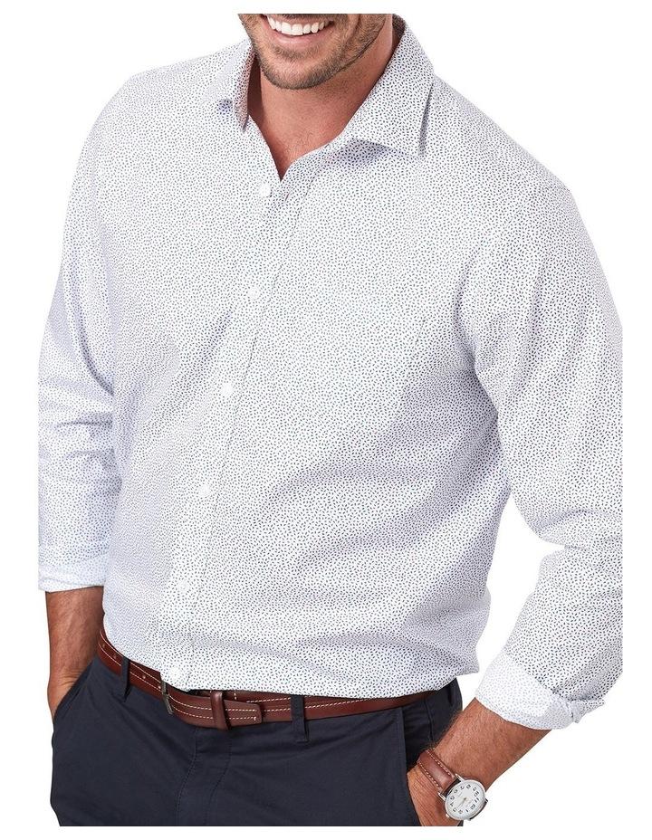 Twill Leaf Print Long Sleeve Shirt image 3