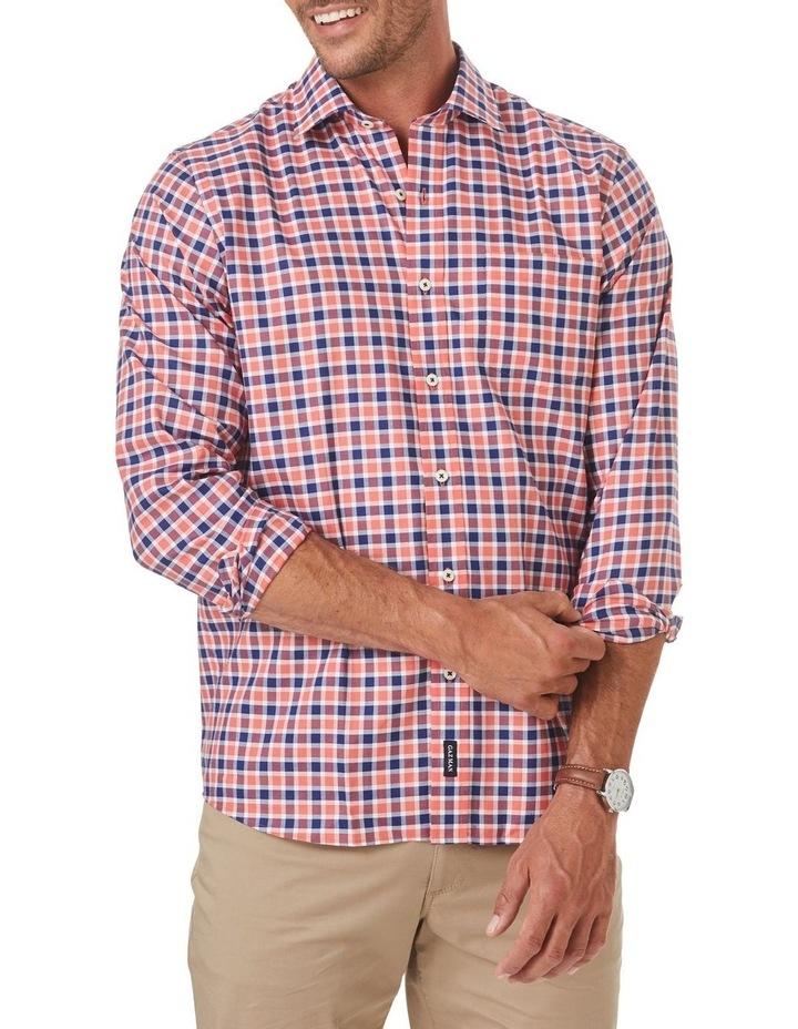Easycare Oxford Check Long Sleeve Shirt image 1
