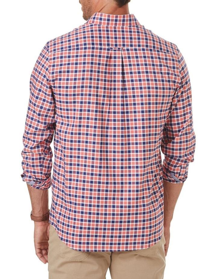 Easycare Oxford Check Long Sleeve Shirt image 2
