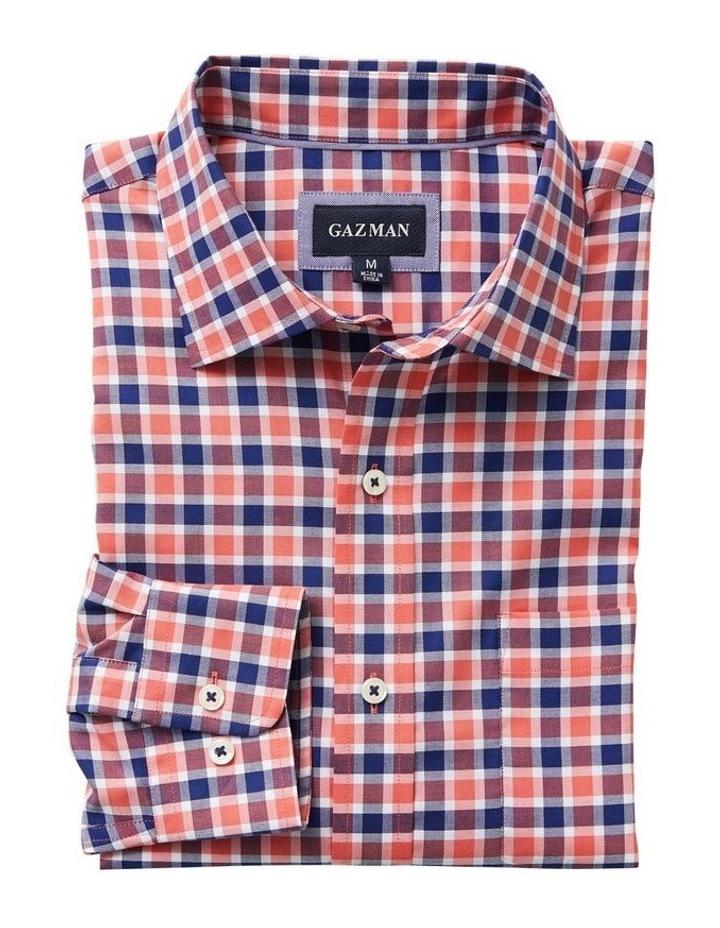 Easycare Oxford Check Long Sleeve Shirt image 4