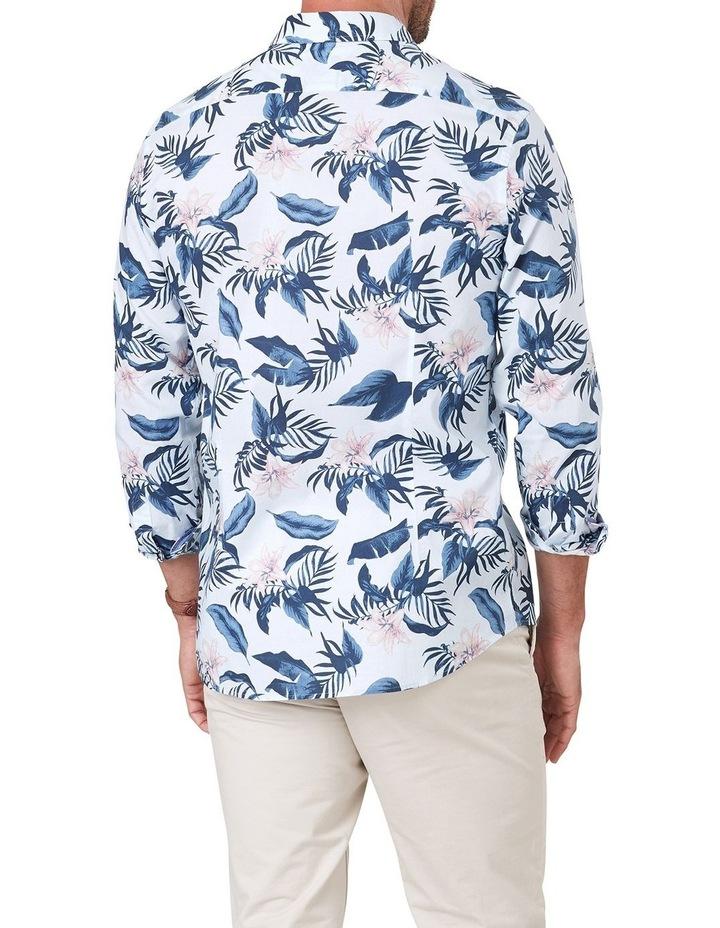 Madras Floral Print Long Sleeve Shirt image 2