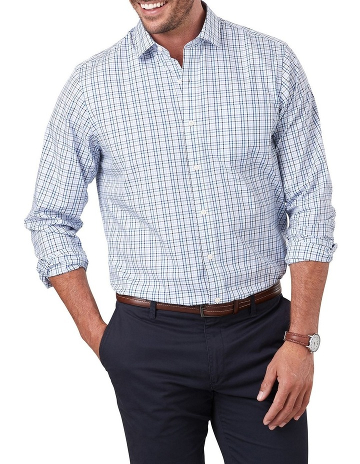 Easy Care Varigated Check Long Sleeve Shirt image 1