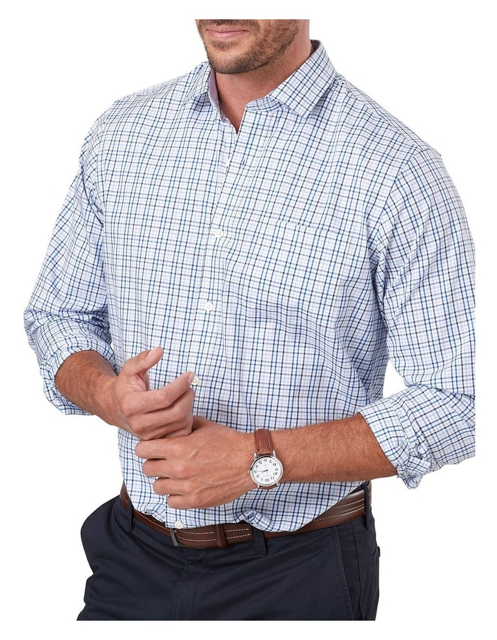 Easy Care Varigated Check Long Sleeve Shirt image 3