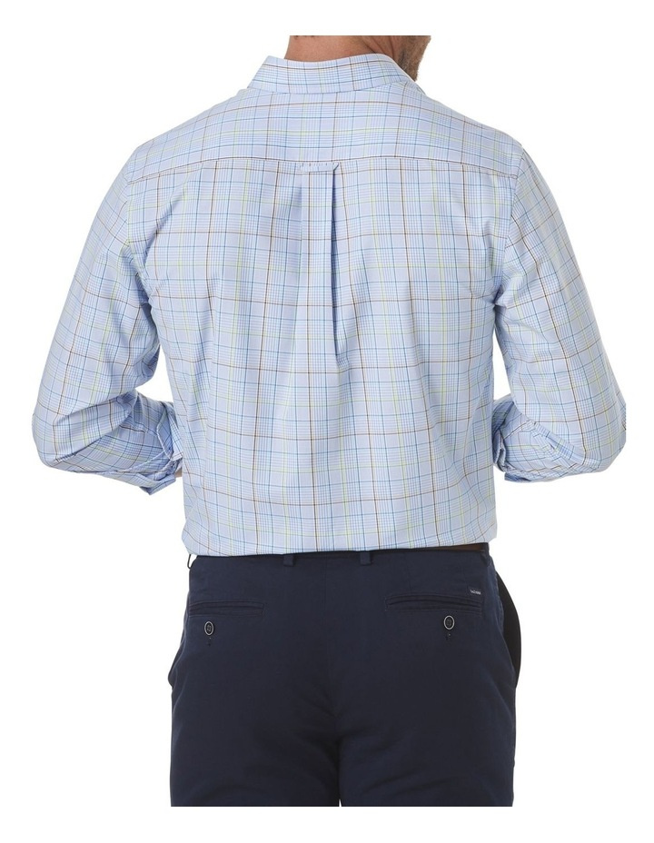 Easy Care Varigated Check Long Sleeve Shirt image 2