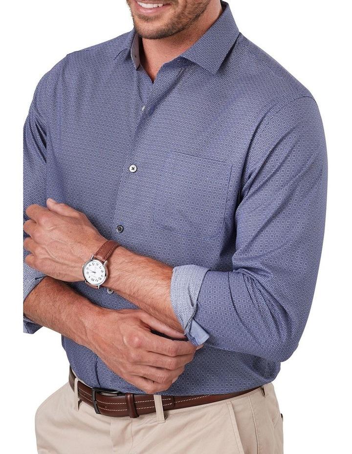 Smart Geo Print Long Sleeve Shirt image 3