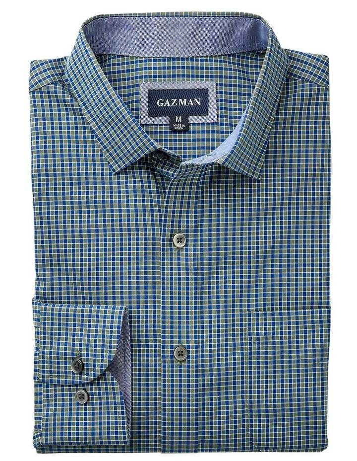 Easy Care Gingham Long Sleeve Shirt image 4