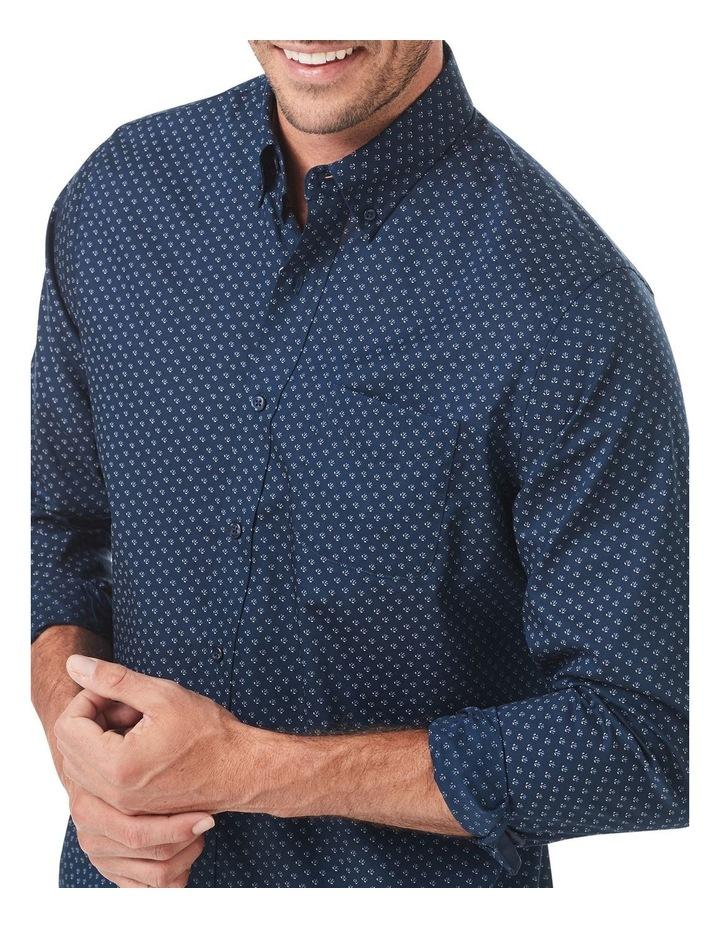 Smart Geo Print Long Sleeve Shirt image 2