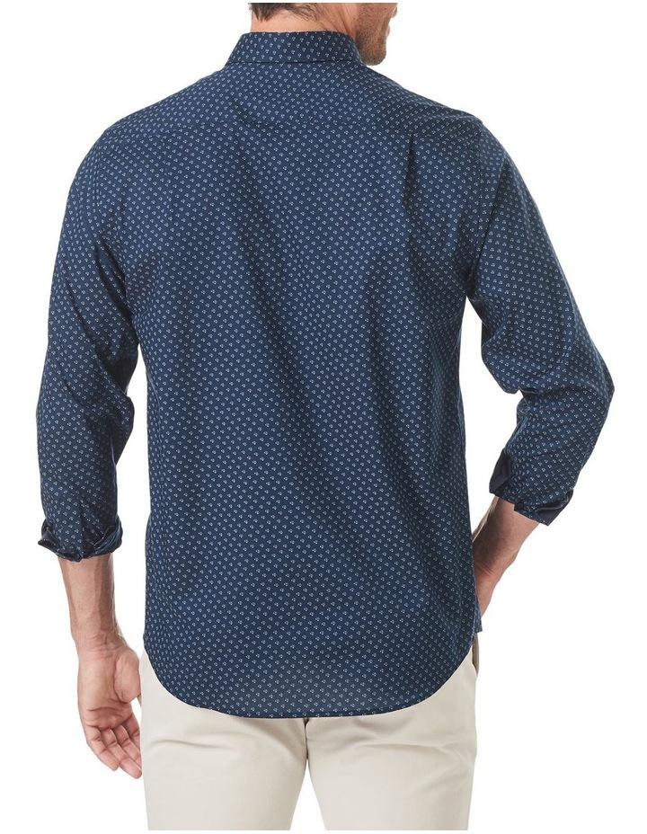 Smart Geo Print Long Sleeve Shirt image 4