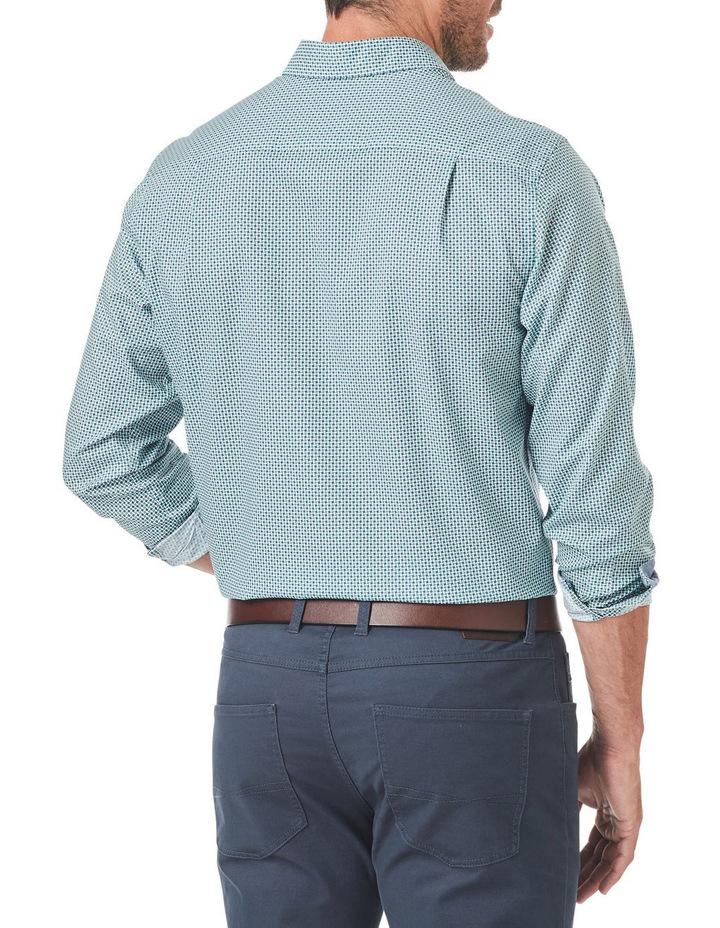 Smart Square Geo Print Long Sleeve Shirt image 2