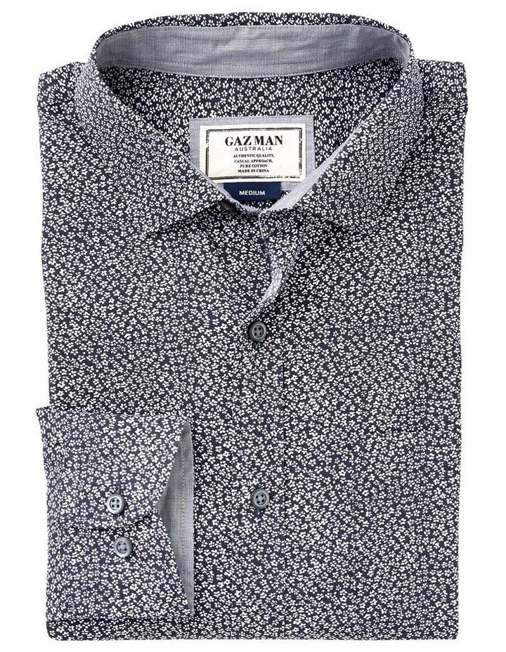 Smart Floral Print Long Sleeve Shirt image 4