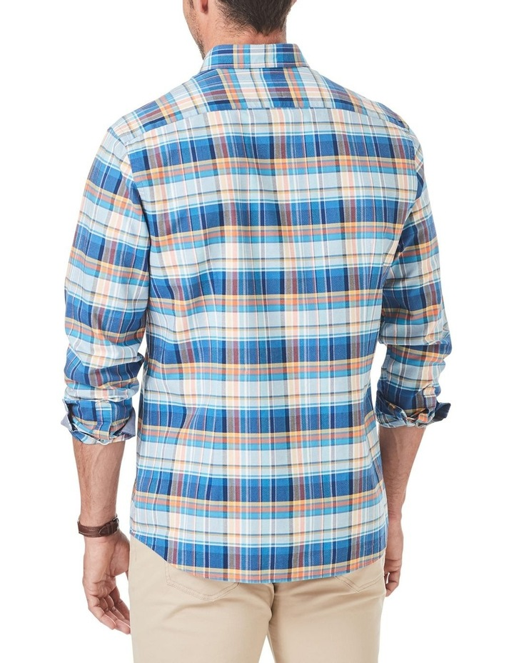 Tailored Casual Oxford Check Long Sleeve Shirt image 2