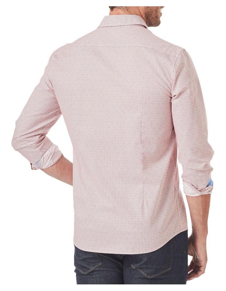 Tailored Smart Leaf Print Long Sleeve Shirt image 2